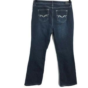 Love Nation Womens 16 Boot Leg Jeans